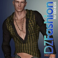 DZ ParkerTop for Genesis 3D Figure Essentials dzheng