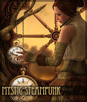Complete Scenes: Mystic Steampunk by -dragonfly3d-