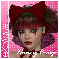 eXotique Honey Crisp Themed Hair Anagord