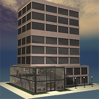 The Office Tower 3D Models Richabri