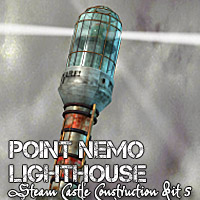 Point Nemo Lighthouse Transportation Props/Scenes/Architecture Themed Cybertenko