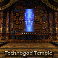 Technogod temple 3D Models deadhead