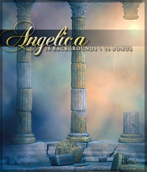 Angelica Backgrounds 2D Graphics Sveva