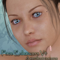 Face Enhancers V4 3D Figure Essentials kaleya