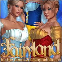 Fairyland for The Dirndl 2012 3D Models 3D Figure Assets ShanasSoulmate