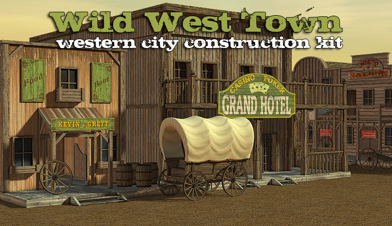 Wild West Town by powerage
