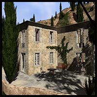Mediterranean villa, Toscana 3D Models 2nd_World