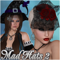 Mad Hats 2 Accessories Silver