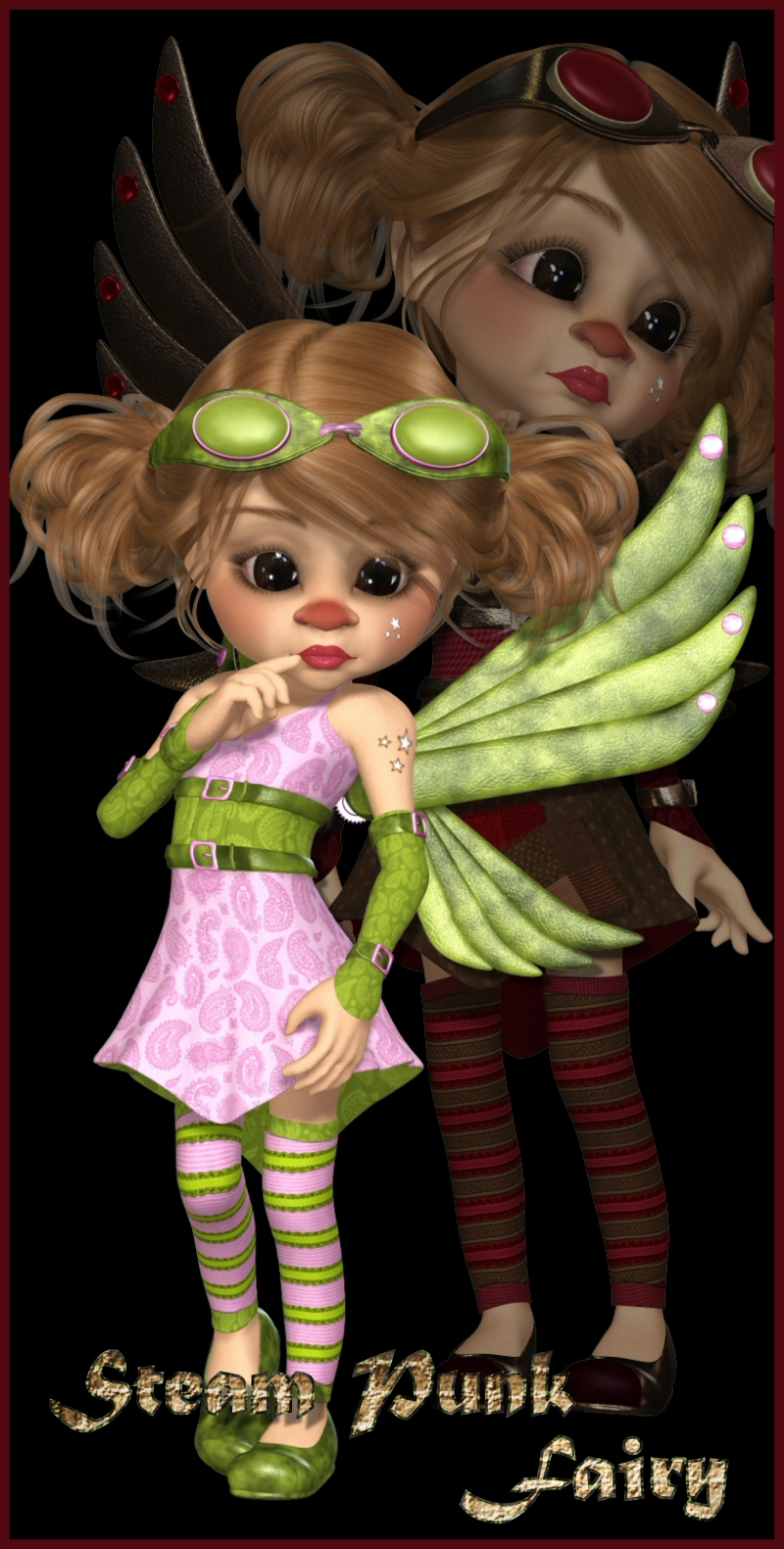 Kiki Steam Punk Fairy