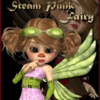 Kiki Steam Punk Fairy 3D Figure Essentials 3DTubeMagic