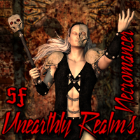 SF Unearthly Realms Necromancer 3D Figure Assets SickleYield