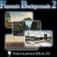 FB6 Fantastic Backgrounds 02 2D Graphics FabricationBot-6