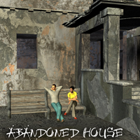 AJ Abandoned House 3D Models -AppleJack-