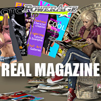 Real Magazine 3D Figure Assets 3D Models powerage