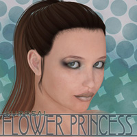 Surreal Flower Princess 3D Figure Essentials 3D Models surreality