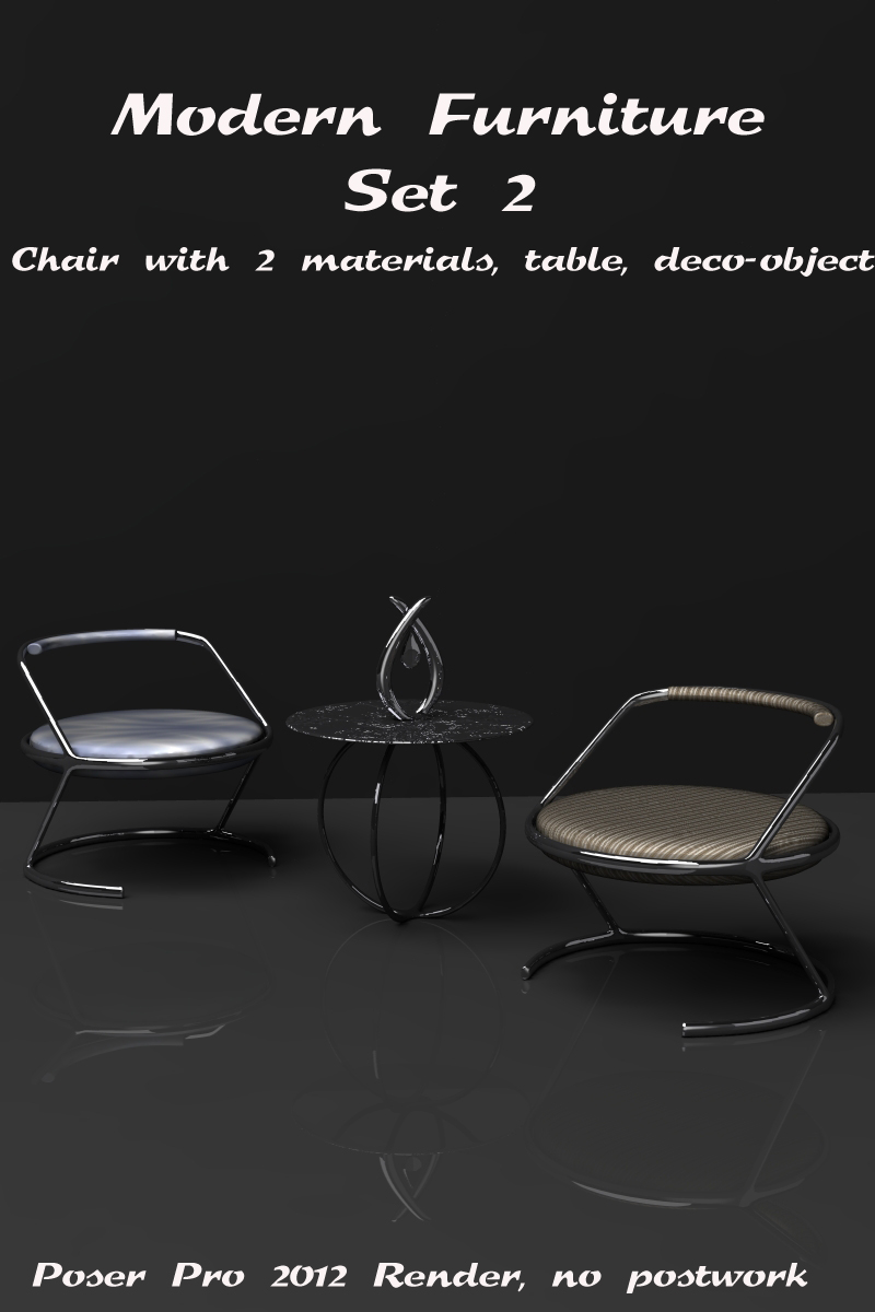 Modern Furniture Set 2