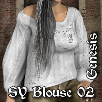 SY Blouse 02 G 3D Figure Essentials SickleYield