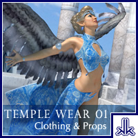 Temple Wear 01 Accessories Clothing kobaltkween