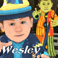 Wesley The Wiz by JudibugDesigns
