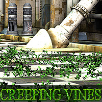 Creeping Vines Props/Scenes/Architecture Themed designfera