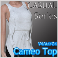 CASUAL Series: Cameo Top V4-A4-G4 Clothing nikisatez
