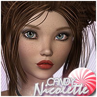 Candy Nicolette Hair Themed Sveva
