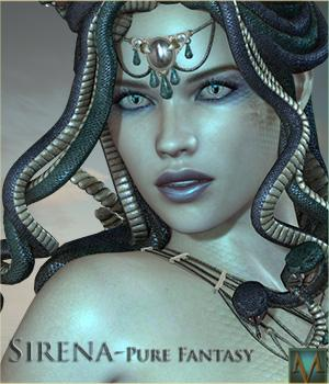 MRL Sirena - Pure Fantasy 3D Figure Essentials Mihrelle