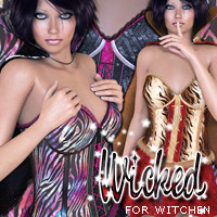 Wicked for Witchen Clothing Themed 3DSublimeProductions