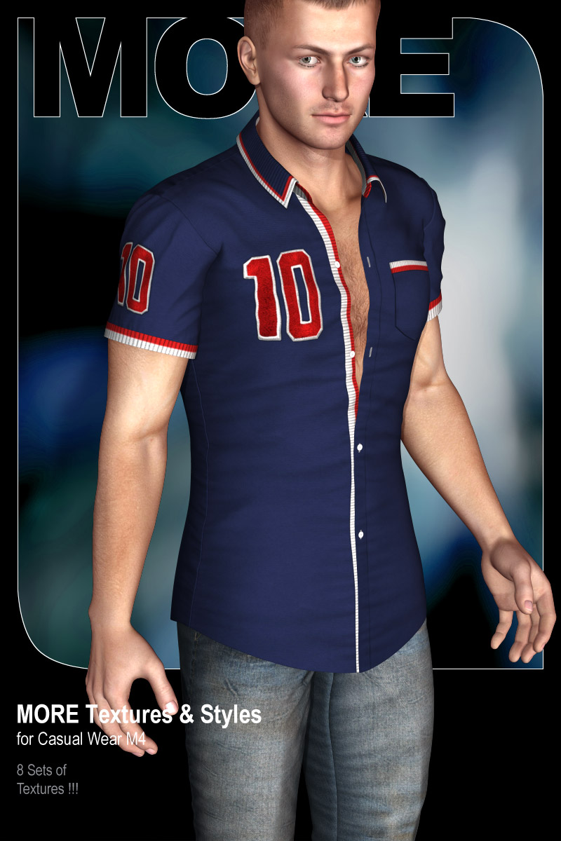 MORE Textures & Styles for Casual Wear M4