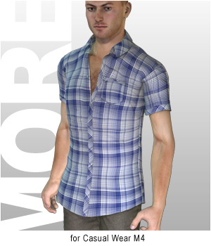 MORE Textures & Styles for Casual Wear M4 3D Models 3D Figure Assets motif