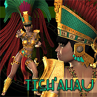 Tish'ahau 3D Figure Essentials Val3dArt