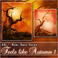 ABC's Feels Like Autumn 1 2D And/Or Merchant Resources Themed Bez