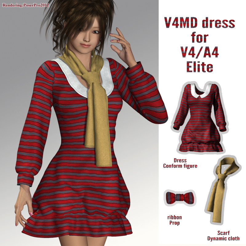 V4MD dress for V4A4