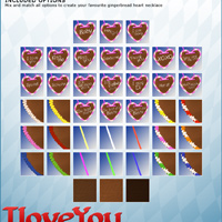 I LOVE YOU Gingerbread for V4/A4/G4 image 5
