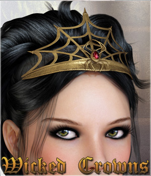 Wicked Crowns 3D Models 3D Figure Assets Legacy Discounted Content lilflame