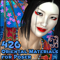Pd-Oriental Poser Materials by parrotdolphin