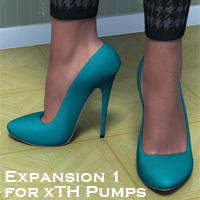 xTH Pumps Expanson 1 3D Figure Essentials bringho