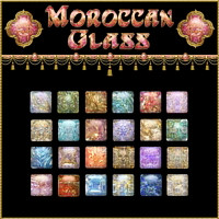 Moroccan Glass Layer Styles 2D Graphics fractalartist01
