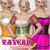 Tavern for The Dirndl 2012 Themed Clothing Atenais