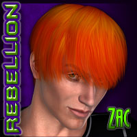 REBELLION: Zac Hair Silverwind-Designs