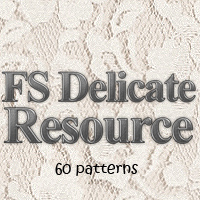 FS Delicate Resource 3D Models 2D FrozenStar