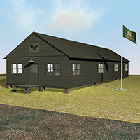 The Army Barracks 3D Models Richabri