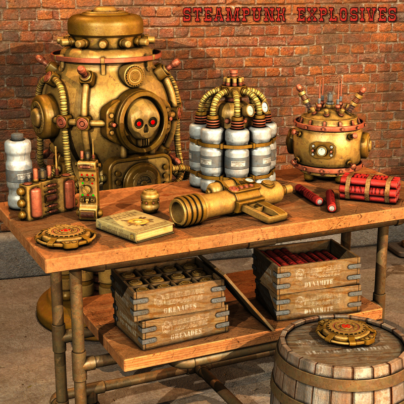Steampunk Explosives