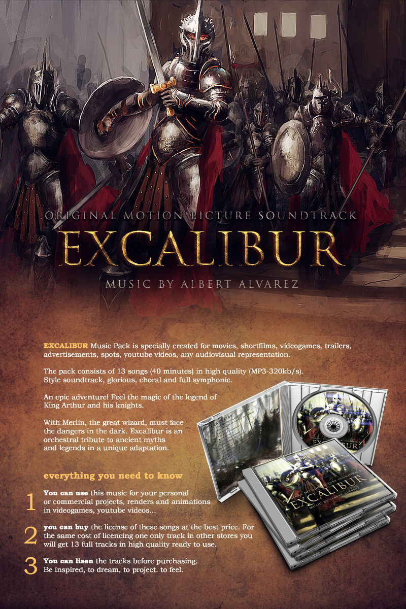 Excalibur Music Pack