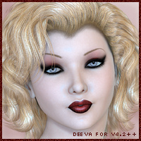 S and M Productions-Deeva for V4.2 Characters SpookieLilOne