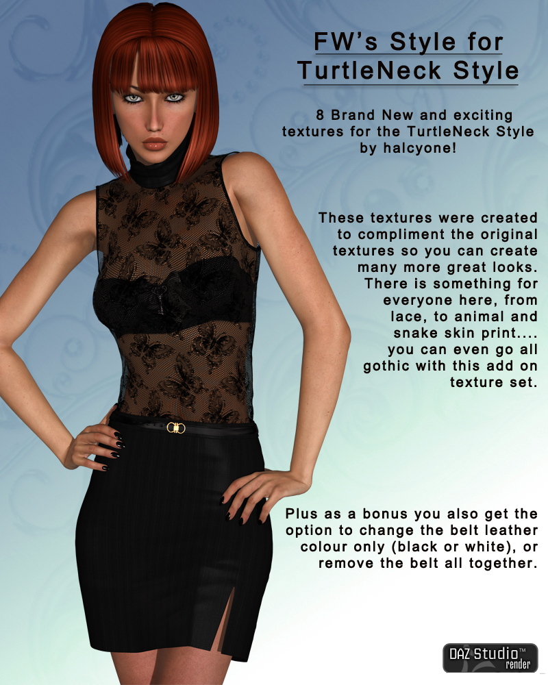 FWs Styles for TurtleNeck Style by halcyone