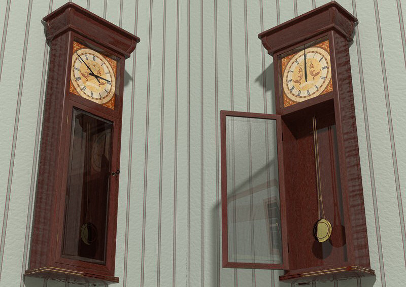 Furniture Set One, Wall Clock