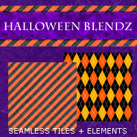 Halloween Blendz 01 2D And/Or Merchant Resources Themed 3DSublimeProductions