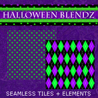 Halloween Blendz 02 2D And/Or Merchant Resources Themed 3DSublimeProductions