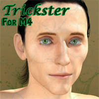 The Trickster for M4 3D Figure Assets 3D Models henrika_amanda